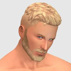 Here's a messier shaved hairstyle with a few hair flicks here and there cause there aren't nearly enough messy maxis-match clay hairstyles. Essentially the shaved hair version of the Out and About. Sims 4 Hair Male, Sims Hair, Sims 4 Mm Cc, Sims 4 Cc Skin, Maxis, Pelo Sims, Sims 4 Teen, Sims 4 Cc Shoes, Foundation