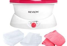 Revlon Moisturizing Paraffin Bath for Smoother Skin, Provides thermal pain relief Offers full range of heat comfort levels Paraffin wax smoothes and softens skin Melts wax in 60 minutes Includes 3 lbs. of wax, 2 thermal mitts, and 30 glove liners Revlon, Wax Therapy, Therapy Tools, Wax Spa, Wax Bath, Burt's Bees, Rich Girls, Wax Machine, Cleanser