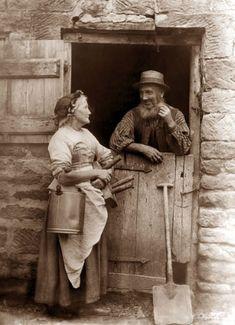 Rural Folk From Long Ago