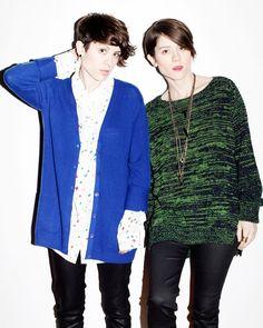 Tegan and Sara.  Such good hair.