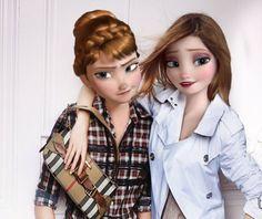 imagenes de las princesas de disney modernas - Buscar con Google