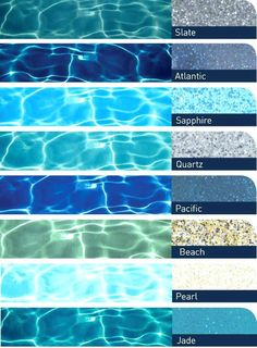 Pool Plaster Color Chart New Pool Water Color Chart Swimming Pool Colors Pool Water Color Chart Of Pool Plaster Color Chart Beautiful Pool Water Color Chart Pool Finish Colors Grey Coping Pools Plaster Small Backyard Pools, Backyard Pool Designs, Small Pools, Backyard Landscaping, Infinity Pool Backyard, Backyard Beach, Backyard Patio, Outdoor Pool, Landscaping Ideas