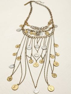 Free People Mykonos Layered Chain Necklace, 108.00