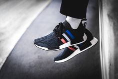 MIDNIGHT ONLINE Adidas NMD_R1 Primeknit Tricolor Black Credit : 43einhalb #Adidas #Inside #Sneakers
