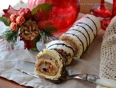 Girelle di pandoro con mascarpone e nutella ,dolcetti senza cottura facili e veloci.Squisitissimi queste girelle di pandoro