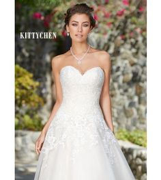 Kitty Chen Spring 2017 Style 1769 Eliza - Bridal Dresses