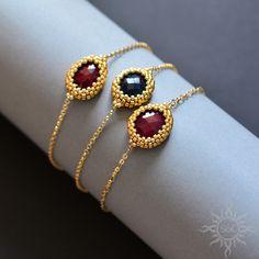 Dainty bracelets by Sol89.deviantart.com on @DeviantArt