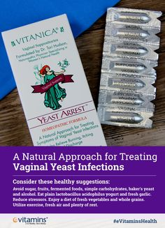 ead27d370e6 A Natural Approach for Treating Vaginal Yeast Infections. Consider these  healthy suggestions: Avoid sugar. eVitamins.com