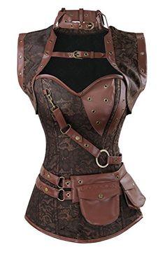 Charmian Women's Spiral Steel Boned Steampunk Gothic Vint... https://www.amazon.com/dp/B01M6V20LI/ref=cm_sw_r_pi_dp_x_29AyybDY6WZ8N