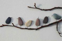 Hoe simpel en hoe mooi... Verzamelde stenen van het strand