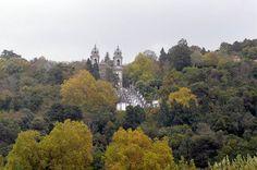 Bom Jesus do Monte. Braga, Portugal