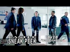 """Castle 8x18 Sneak Peek #2 - Castle Season 8 Episode 18 Sneak Peek """"Backstabber"""" - YouTube"""