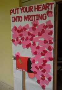 valentine's day bulletin boards high school