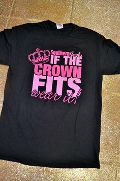 Southern Jewlz Online Store - If The Crown Fits Fashion Show T-Shirt,  (http://www.southernjewlz.com/if-the-crown-fits-fashion-show-t-shirt/)