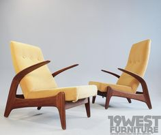 AreaNeo | Gimson & Slater Easy Chairs, 1950s - 19 West Furniture - Rock n Rest