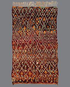 Marmoucha . MA01 . Vintage Moroccan Carpets // Breuckelen Berber