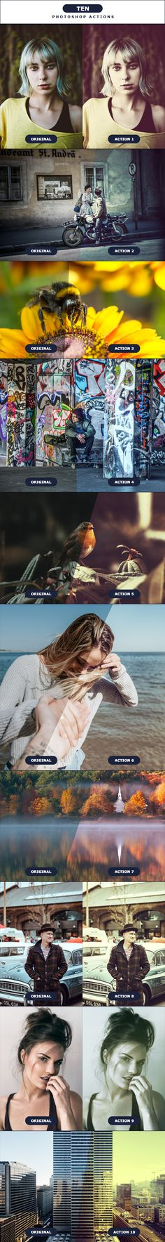 TEN - Photoshop Actions 2 - Photo Effects Actions