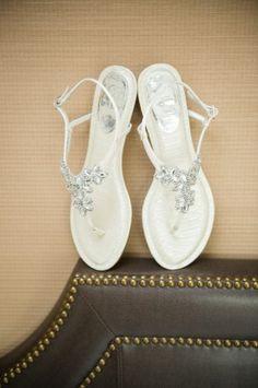 Wedding bridal sandals