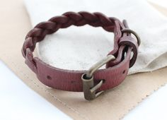 Leather dog collar Pet collar Small dog Cat Puppy Braided collar hand dyed collars Cable collars Leather collars Different Sizes XS S by AngerRefuge on Etsy https://www.etsy.com/listing/244691207/leather-dog-collar-pet-collar-small-dog