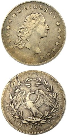 David Lawrence Rare Coins has this item on Collectors Corner - 1794 $1 VF30 PCGS