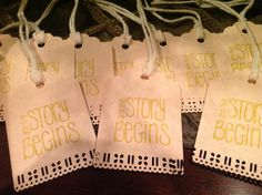 Wedding wish tree tags by SimpleSouthernSass on Etsy, $12.95