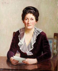 A Seated Woman by Lilla Cabot Perry