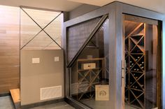 gauthier hillside - construction zone; I don't really need a wine cellar, but I think this is the coolest (& most practical) ones I've ever seen.  Very sweet.