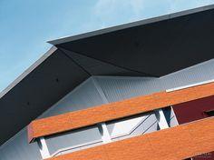 Vector Arena; Roof - Dimondek 630, Cladding - Brownbuilt 900 Cladding, New Zealand, Shelter, Facade, Commercial, Exterior, Design, Facades, Outdoors