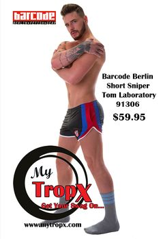 Barcode Berlin Short Sniper Tom Laboratory 91306 $59.95