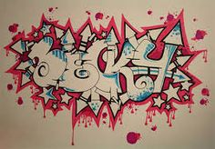 When it comes to stylish fonts, graffiti letters are most often an unrivaled option. You can use the graffiti style artworks for… Free Graffiti Fonts, Graffiti Names, Best Graffiti, Graffiti Wall Art, Graffiti Lettering, Graffiti Designs, Graffiti Styles, 8th Grade Art, Name Art