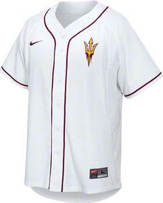 c2d9f00dbb7 Arizona State Sun Devils Nike Replica Baseball Jersey Arizona State  University