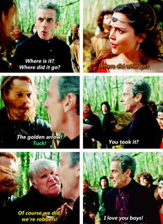 [gifset] 8x03 Robot of Sherwood #DoctorWho