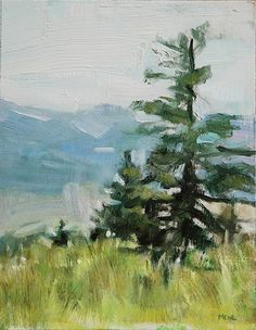 As I write this, we are in the grip of an Oregon Winter. The days are short, with the sun rising at 7 AM and setting at 4 PM. The long days of Summer are a distant memory, and yet, as I study this painting...