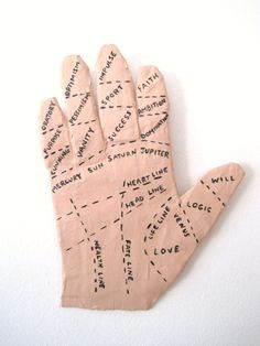 Hand of Fortune Papier Mache Wall Art by jikits on Etsy, $25.00