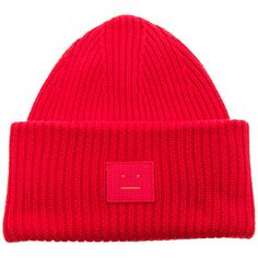 7a0d5e29dae Acne Studios Pansy Beanie ( 145) ❤ liked on Polyvore featuring accessories