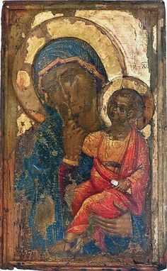 Byzantine Icons, Byzantine Art, Religious Icons, Religious Art, Images Of Mary, Madonna And Child, Art Icon, Orthodox Icons, Mother Mary