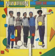 """New Edition - Candy Girl 12"""" (1983)"""