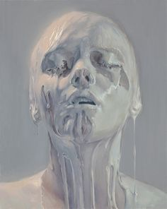 Porcelain Skin, Ivan Alifan, oil paint, 2012