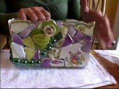 How to Make Mosaic Art : How to Grout a Mosaic Work of Art. This is a very good tutorial.