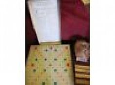 #NewYorkCity, NY Merchandise / 2 #Vintage #Scrabble Sets - Geebo -96 tiles and board in very good condition