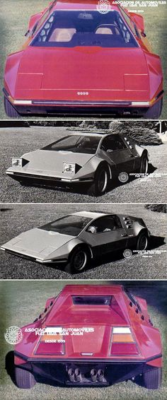 IAVA Mara, 1971. A prototype made by Argentine Advanced Vehicle Industry using a mid/rear mounted Fiat 128 engine and transmission
