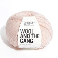 Wool And The Gang Crazy Sexy Wool – Cameo Rose 8st £15.50 80m 200g