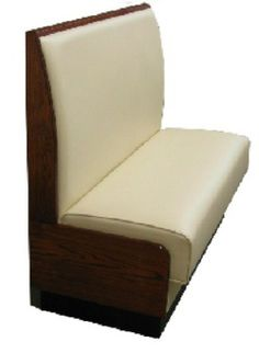 Solid Wood Upholstered Booth