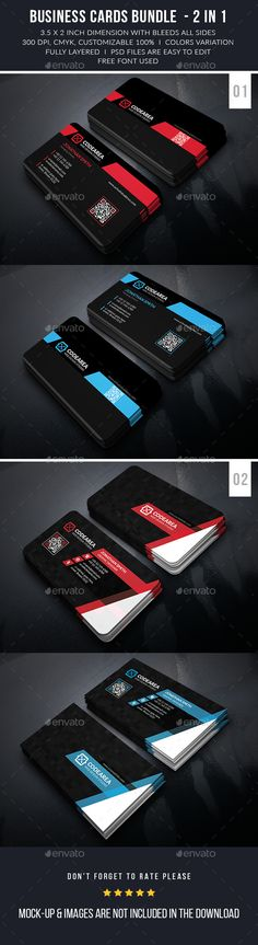 Modern Business Cards Bundle - Business Card Template PSD. Download here: http://graphicriver.net/item/modern-business-cards-bundle/12631710?s_rank=1753&ref=yinkira