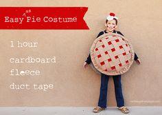 Ramblings From Utopia: Easy as Pie Halloween Costume