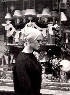 Brigitte Bardot. St Tropez, 1961.