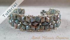 Almas Starburst Bracelet Tutorial by BeadWovenDreams on Etsy