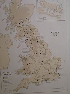 British Museum-Map of Roman Britain