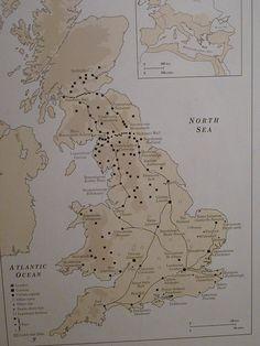 British Museum-Map of Roman Britain