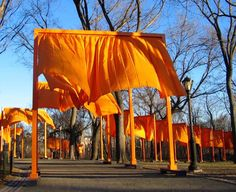 the gates dharma gates melissa myozen blacker jeanne claude and christo central park lion's roar buddhism waking up in every moment shambhala sun